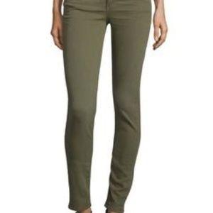 Rag & Bone for Intermix Olive Green Skinny Jeans